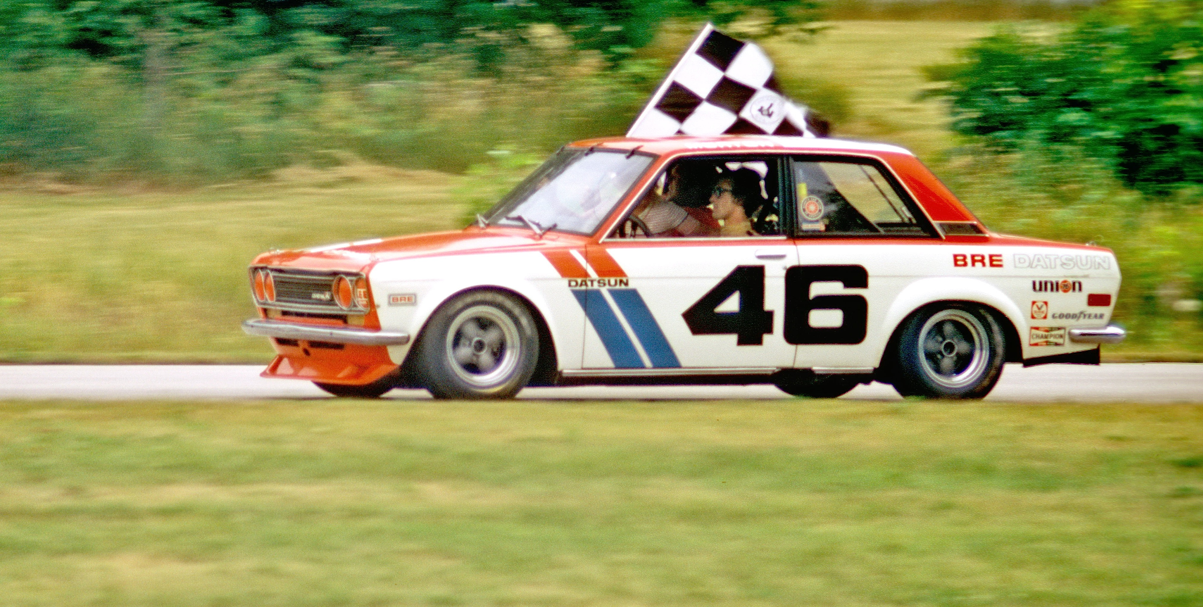 Vintage Datsun Racing The Stainless Steel Carrot