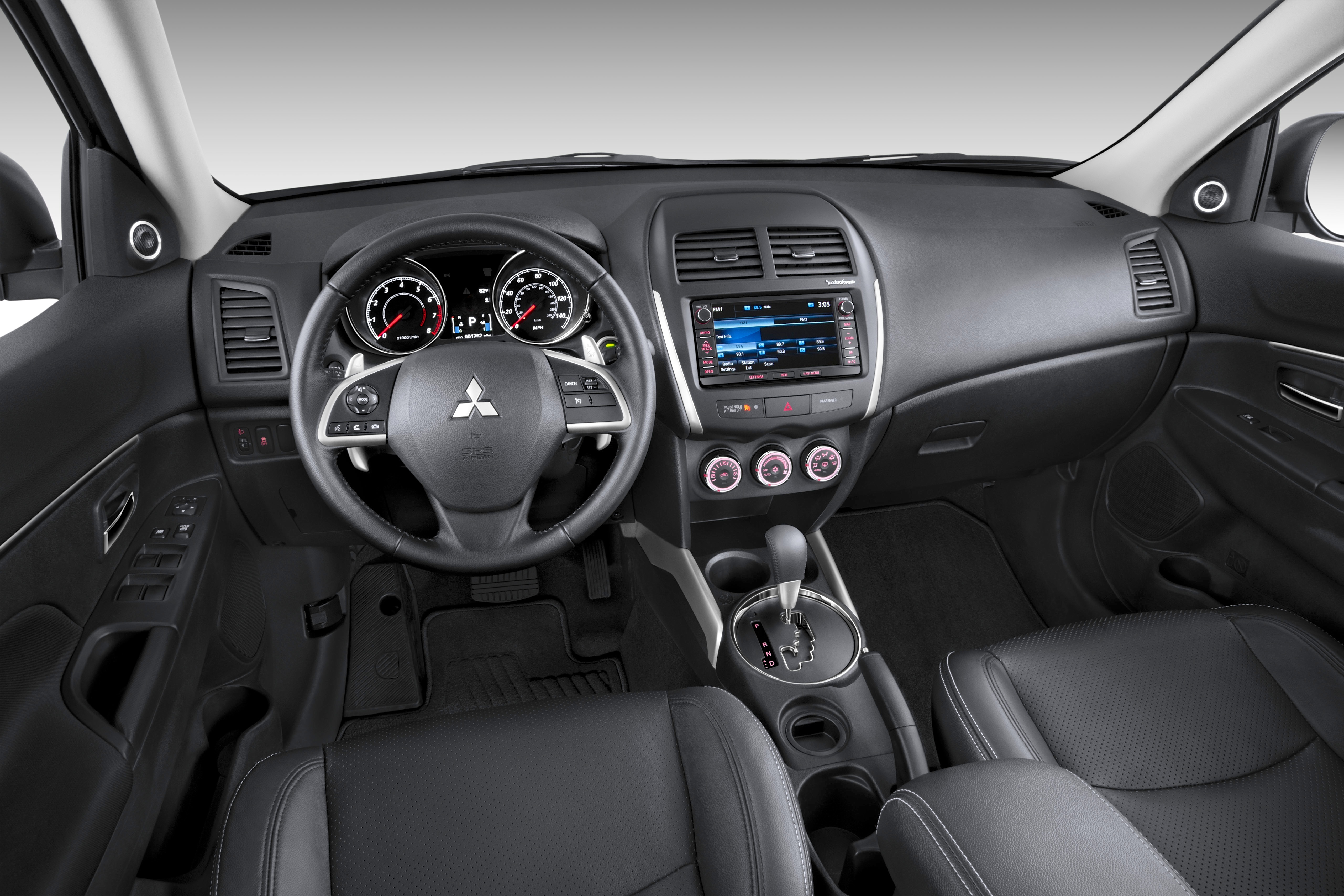 Beautiful 2014 Mitsubishi Outlander Sport SE Interior