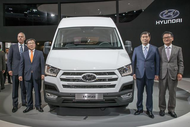 Hyundai Unveils H350 Full-Size Van in Europe – Will It Come