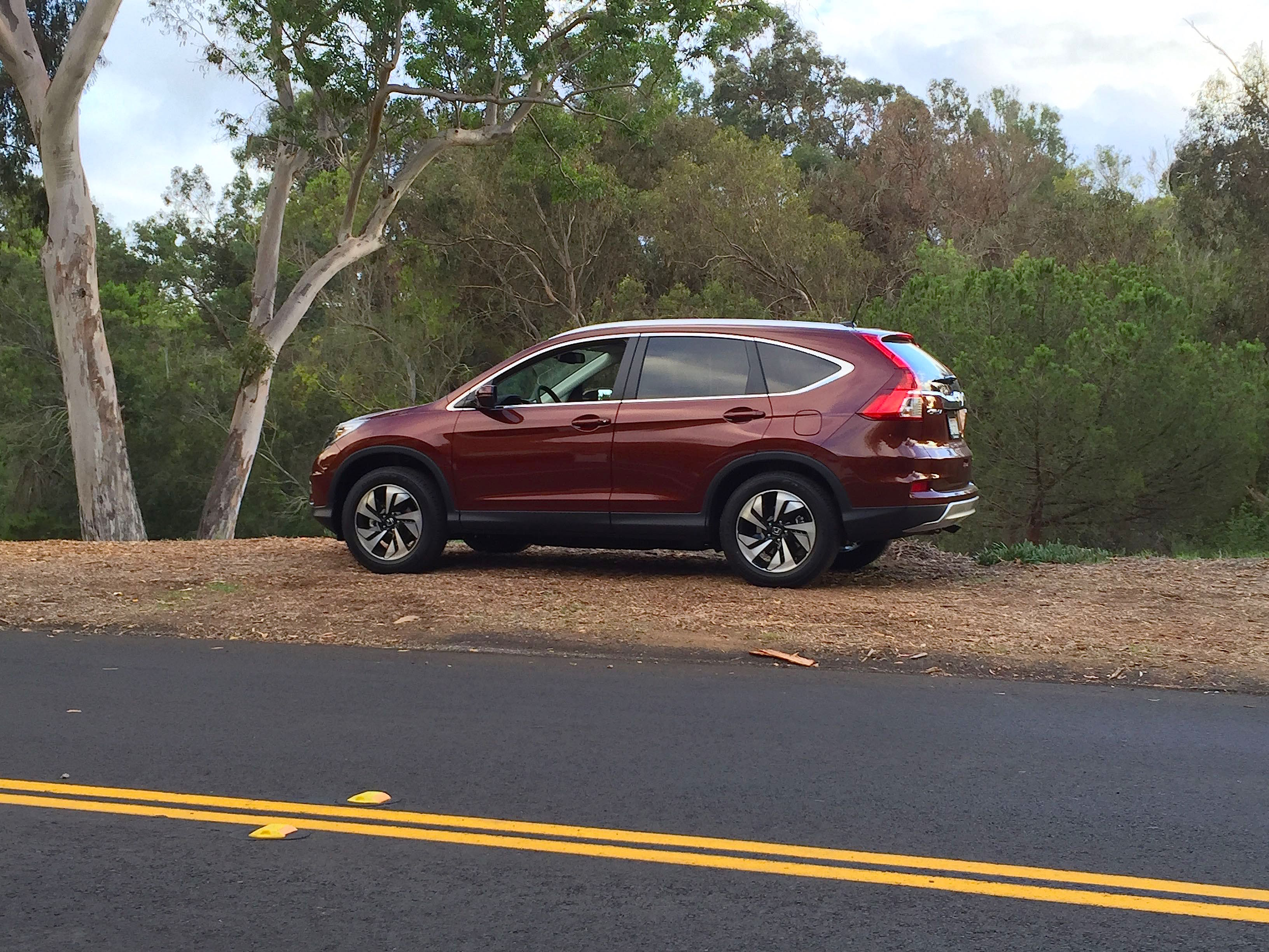 2015 Honda Cr V Touring Review New Flagship Model Adds