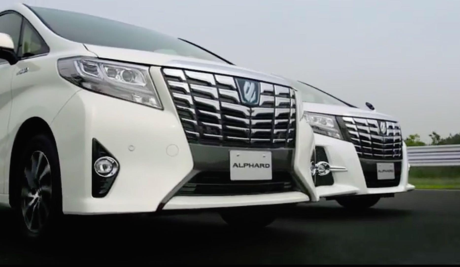 Toyota Launches New Alphard and Vellfire – Bold Designs