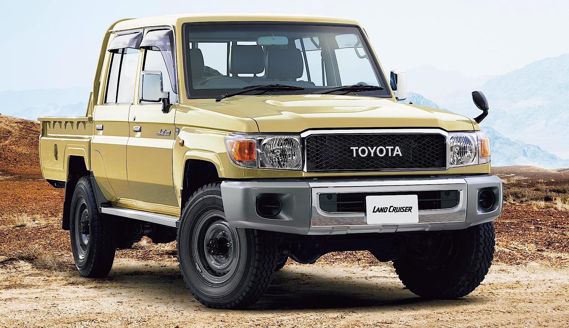 The Love of Land Cruiser - Toyota Builds NEW Vintage 70 ...