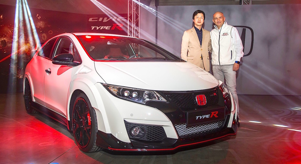 It's Honda's time. Geneva Motor Show Preview Event launch of Type R and NSX