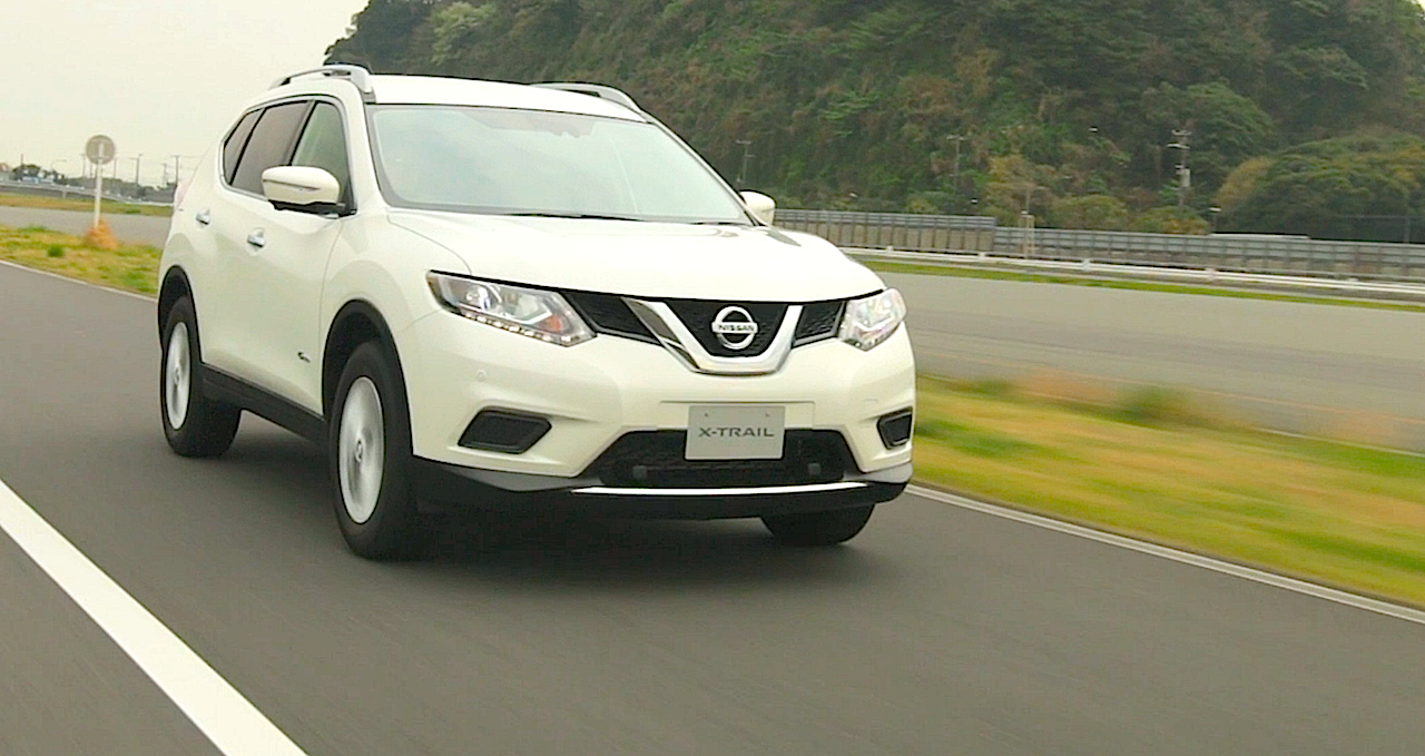 carnichiwa nissan introduces x trail hybrid in japan will rogue and qashqai be next. Black Bedroom Furniture Sets. Home Design Ideas