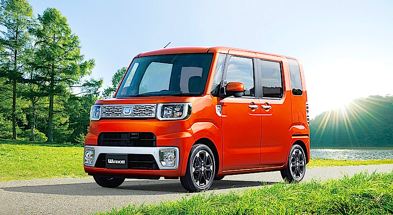 Toyota Introduces Pixis Mega In Japan
