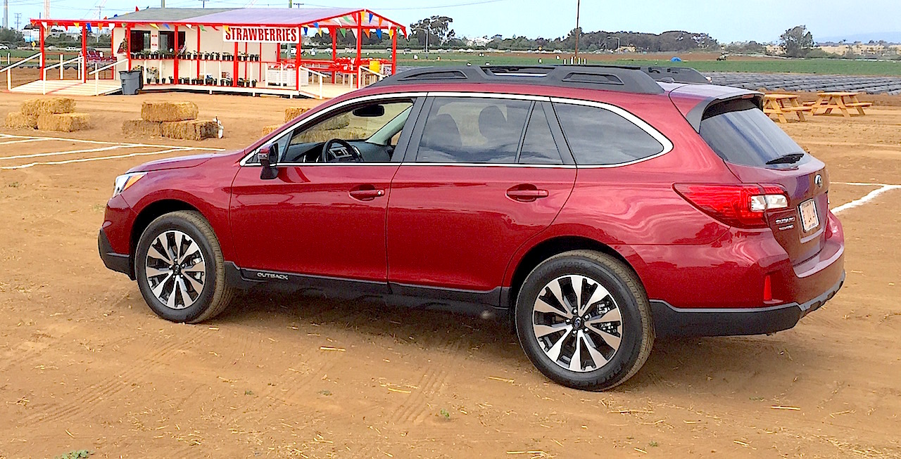 2015 subaru outback 3 6r review road trip reveals the joy of six carnichiwa. Black Bedroom Furniture Sets. Home Design Ideas