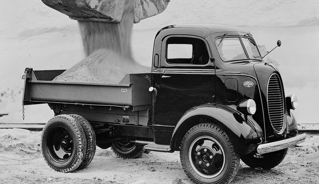 1939 Ford Cab Over Engine Dump Truck