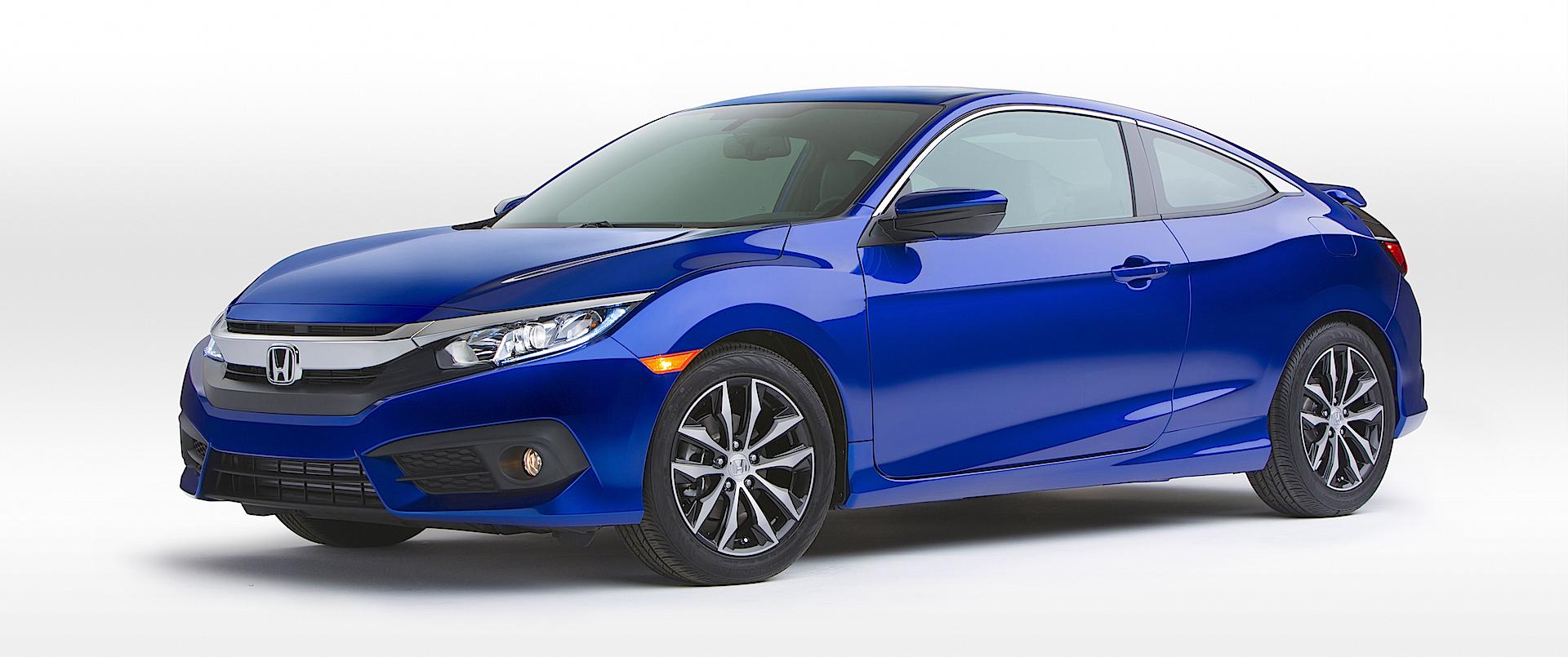 CarNichiWa® | 2016 Honda Civic Coupe Revealed – 2015 Los Angeles ...