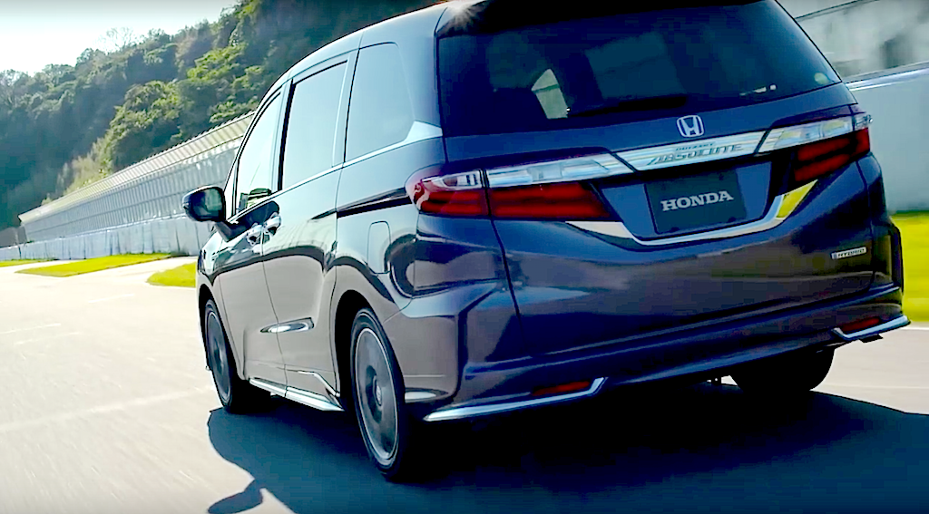 Honda Started Ing The Hybrid Version As Well Refreshed Gas Ed Models Of Odyssey And Absolute Premium Minivans On Feb