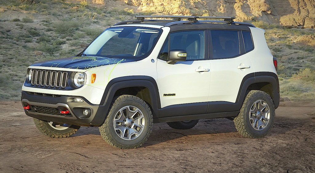 Jeep® Renegade Commander Concept