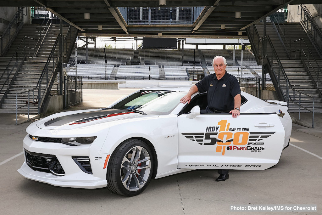 Roger Penske To Drive Indy 500 Camaro SS Pace Car