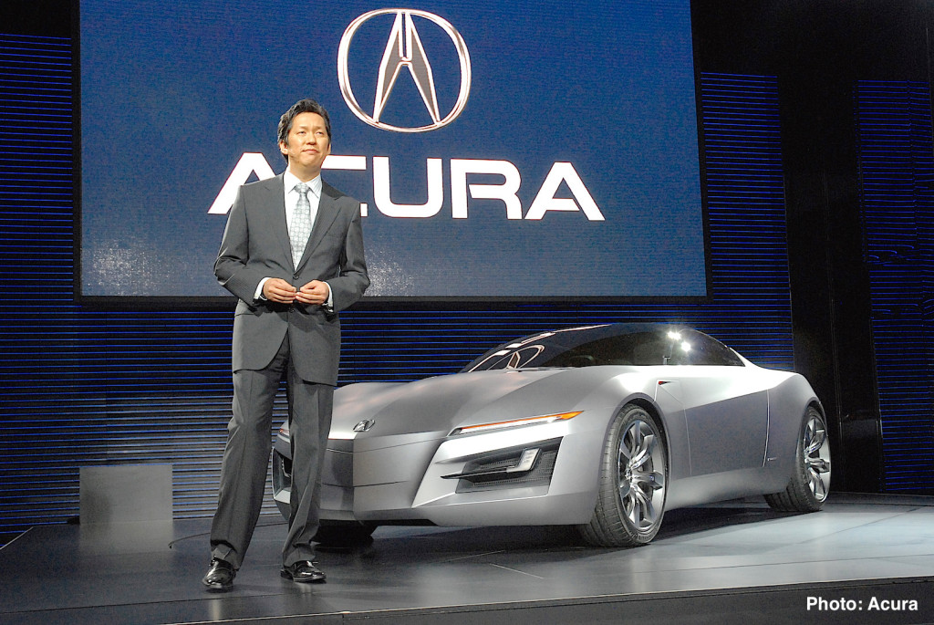 Acura Advanced Sports Car Concept Debuts at NAIAS