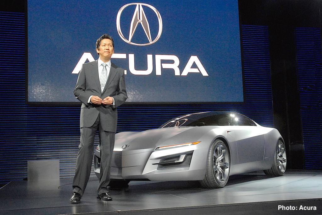 Acura Advanced Sports Car Concept Debuts at NAIAS