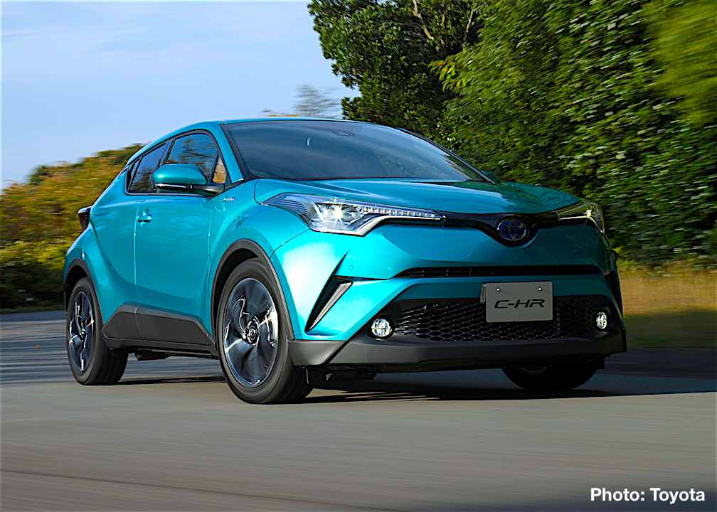 Toyota Launches C-HR in Japan – Customize it with Toyota, TRD and