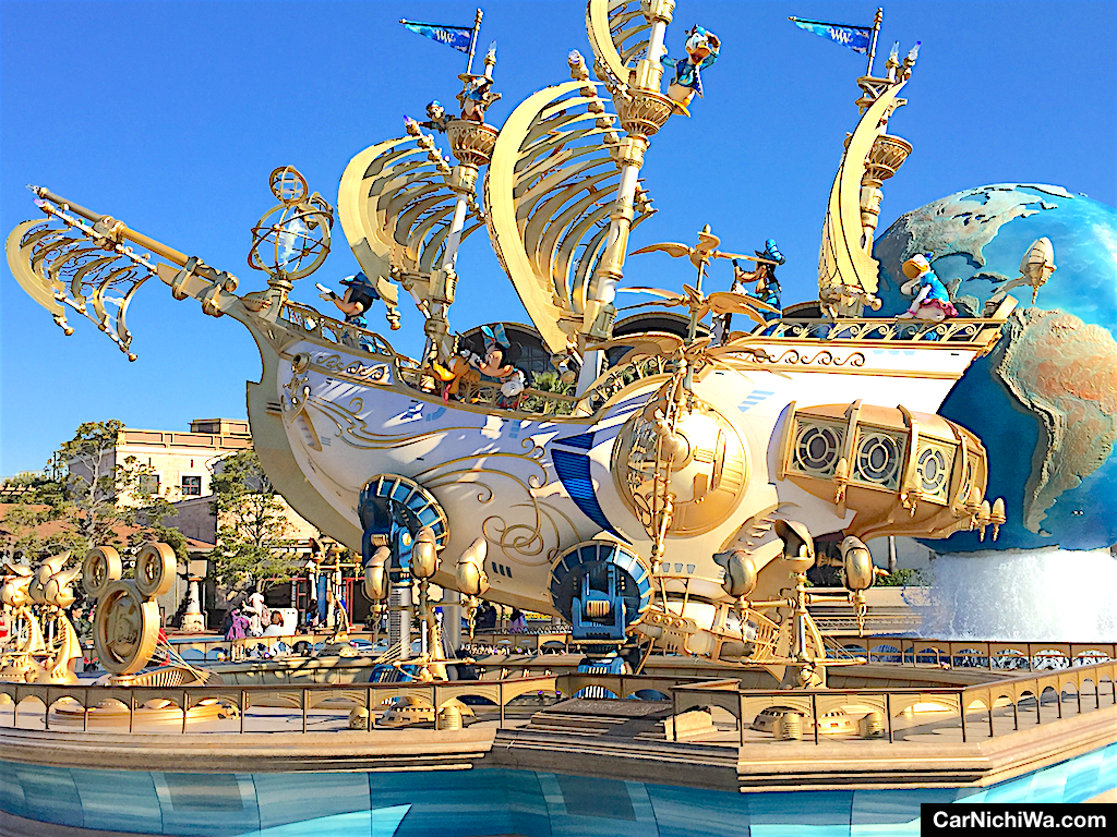 Carnichiwa visiting tokyo disney resort part 3 tokyo we made this photo of the wing of wishes ship during our visit to disneysea in early 2017 when the extended 15th anniversary celebration of the park was sciox Image collections