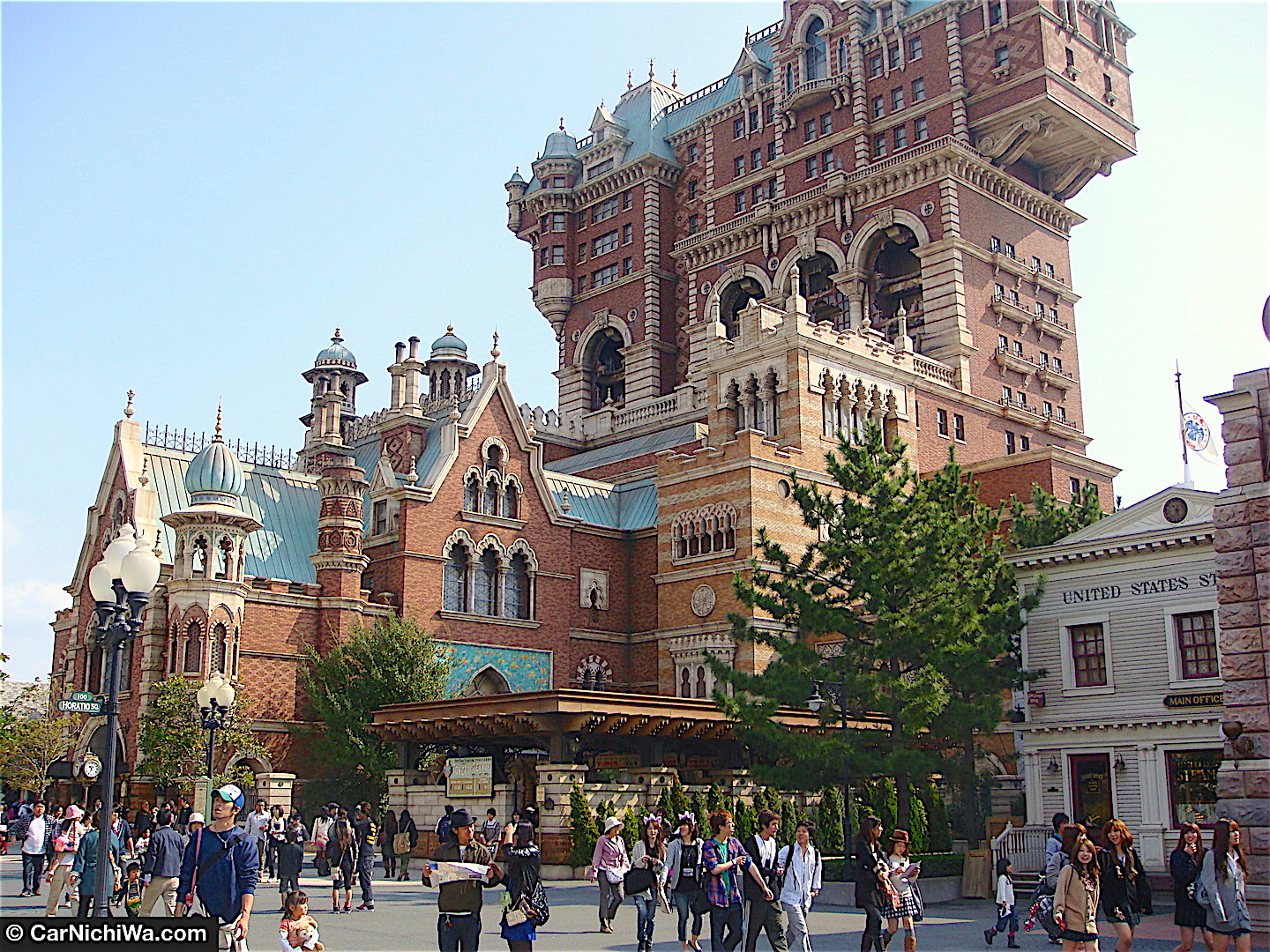 CarNichiWa Visiting Tokyo Disney Resort Part Tokyo - Journey through tokyo and space in this incredible 360 video
