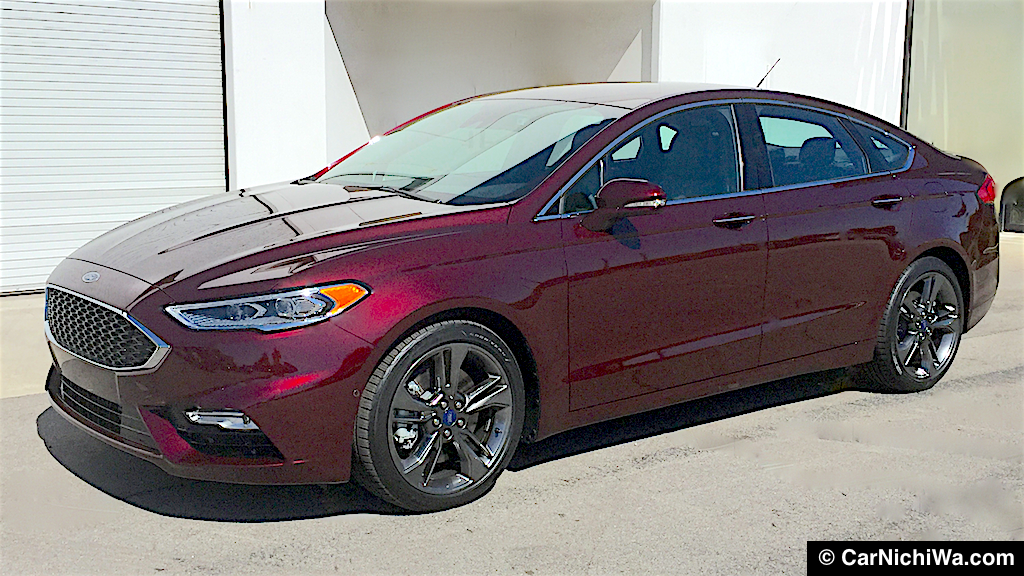2017 Ford Fusion V6 Sport Quick Review Command