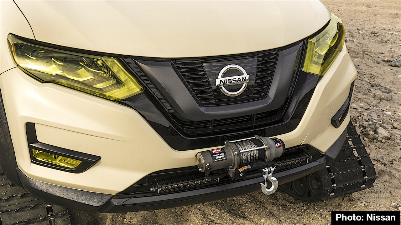 Nissan Rogue Trail Warrior Track Day Special Debuts At 2017 New