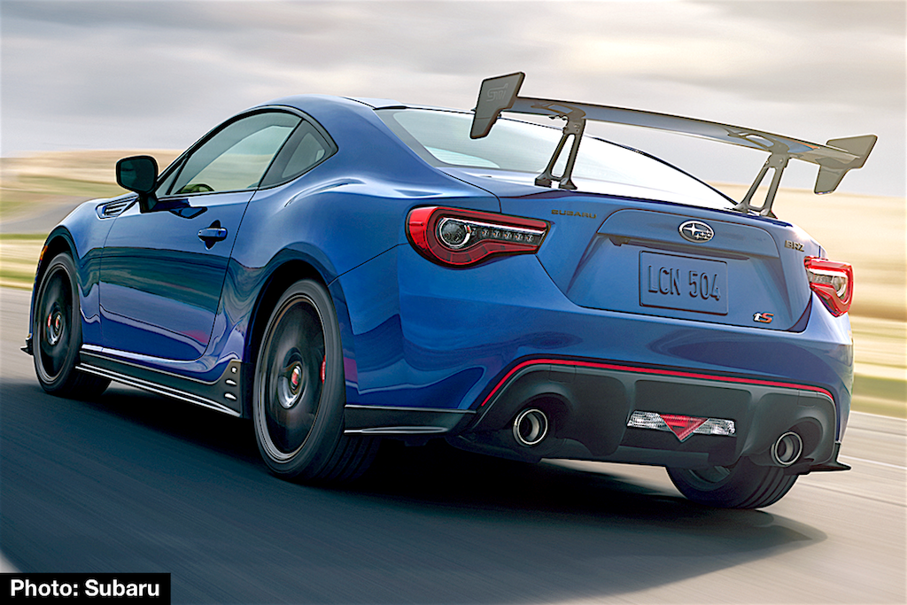 2018 subaru wrx sti type ra revealed with more power less. Black Bedroom Furniture Sets. Home Design Ideas