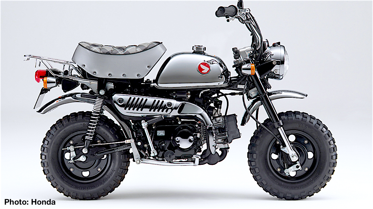 Honda Monkey 50th Anniversary Special Limited Edition Of