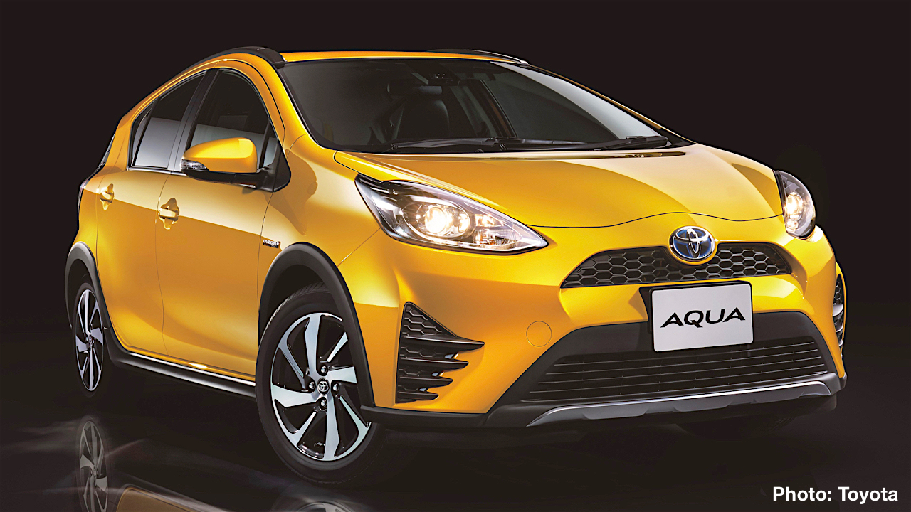 Toyota Aqua Crossover Debuts in Japan – Could This Play on