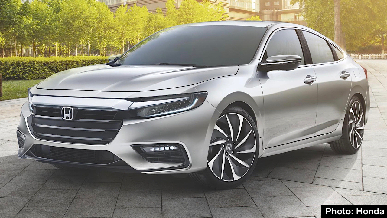 Honda Is Planning To Display A Prototype Of The Next Generation Insight Hybrid At 2018 Detroit Auto Show Month New Sedan Expected Go On