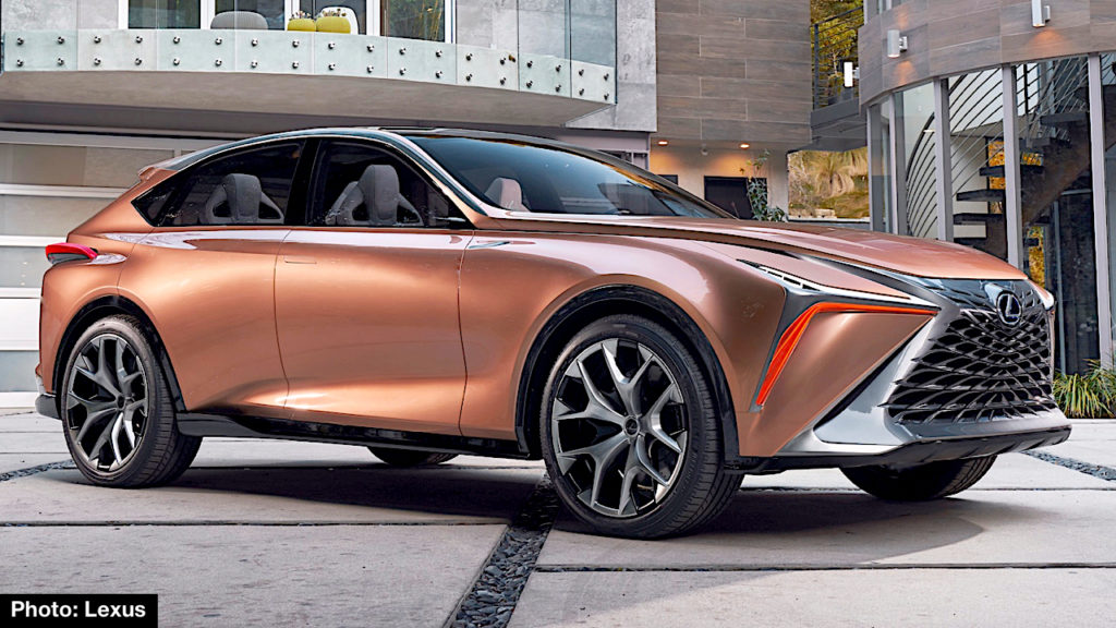 lexus lf 1 limitless debuts in detroit molten katana drives this future flagship crossover. Black Bedroom Furniture Sets. Home Design Ideas