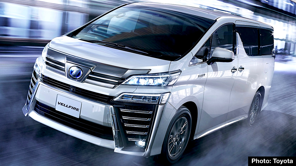 2018 Toyota Vellfire Executive Lounge Lexus Of Minivans Gets A