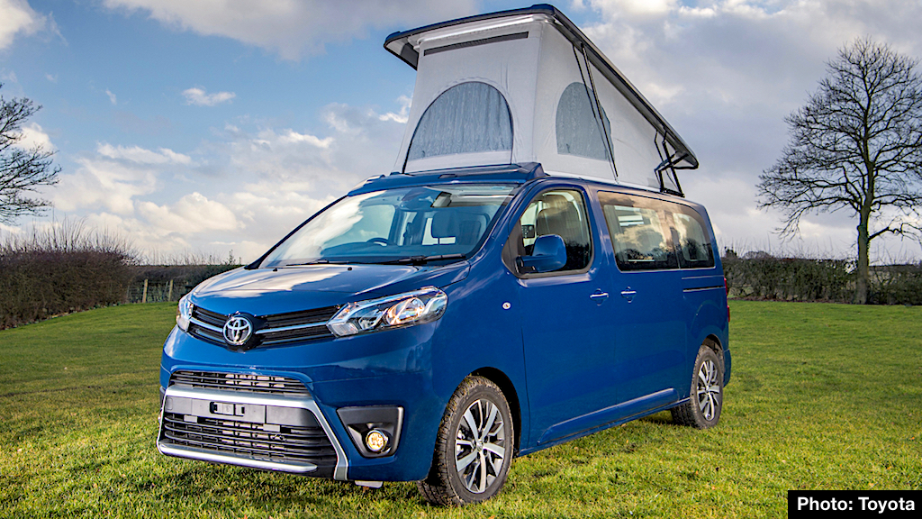 2018 Toyota Proace Lerina Preview – Campervan of Our Dreams