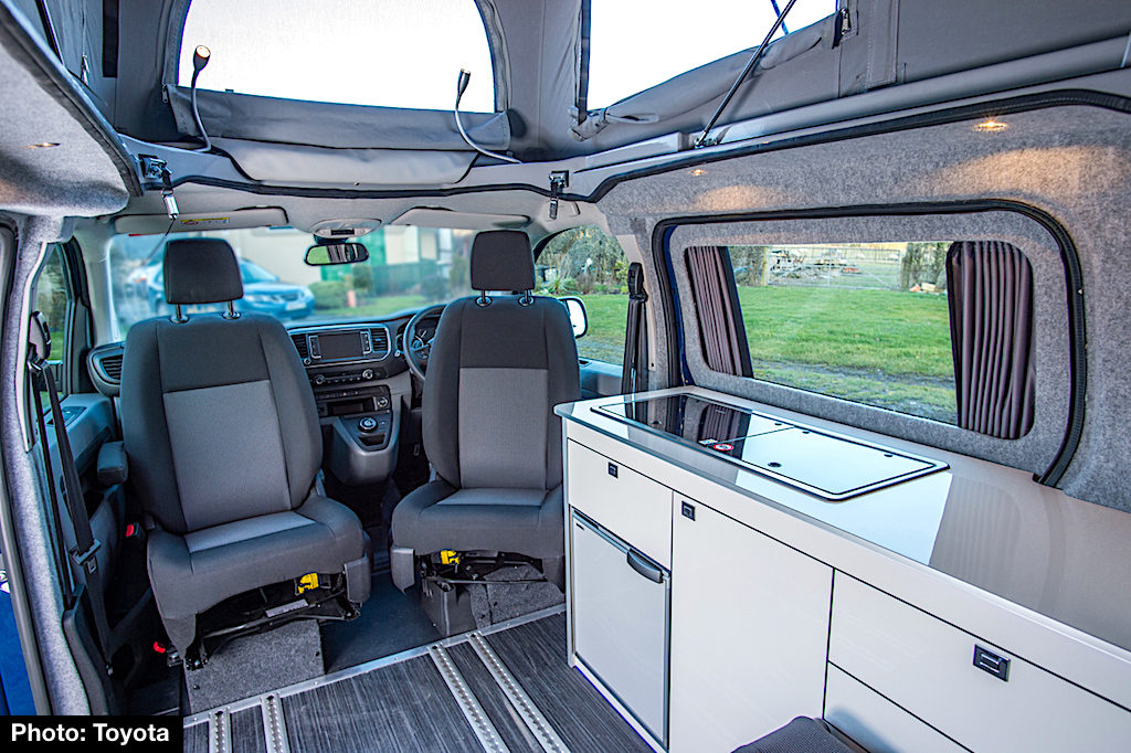 2018 Toyota Proace Lerina Preview Campervan Of Our
