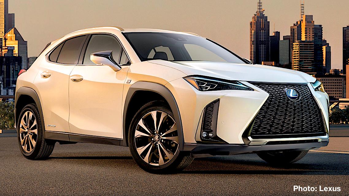 2019 Lexus Ux Hybrid Crossover First Look World Debut At Geneva