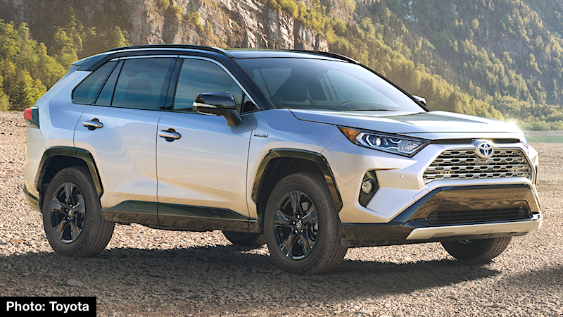 2019 Toyota Rav4 Adventure And Xse Hybrid New York Auto Show