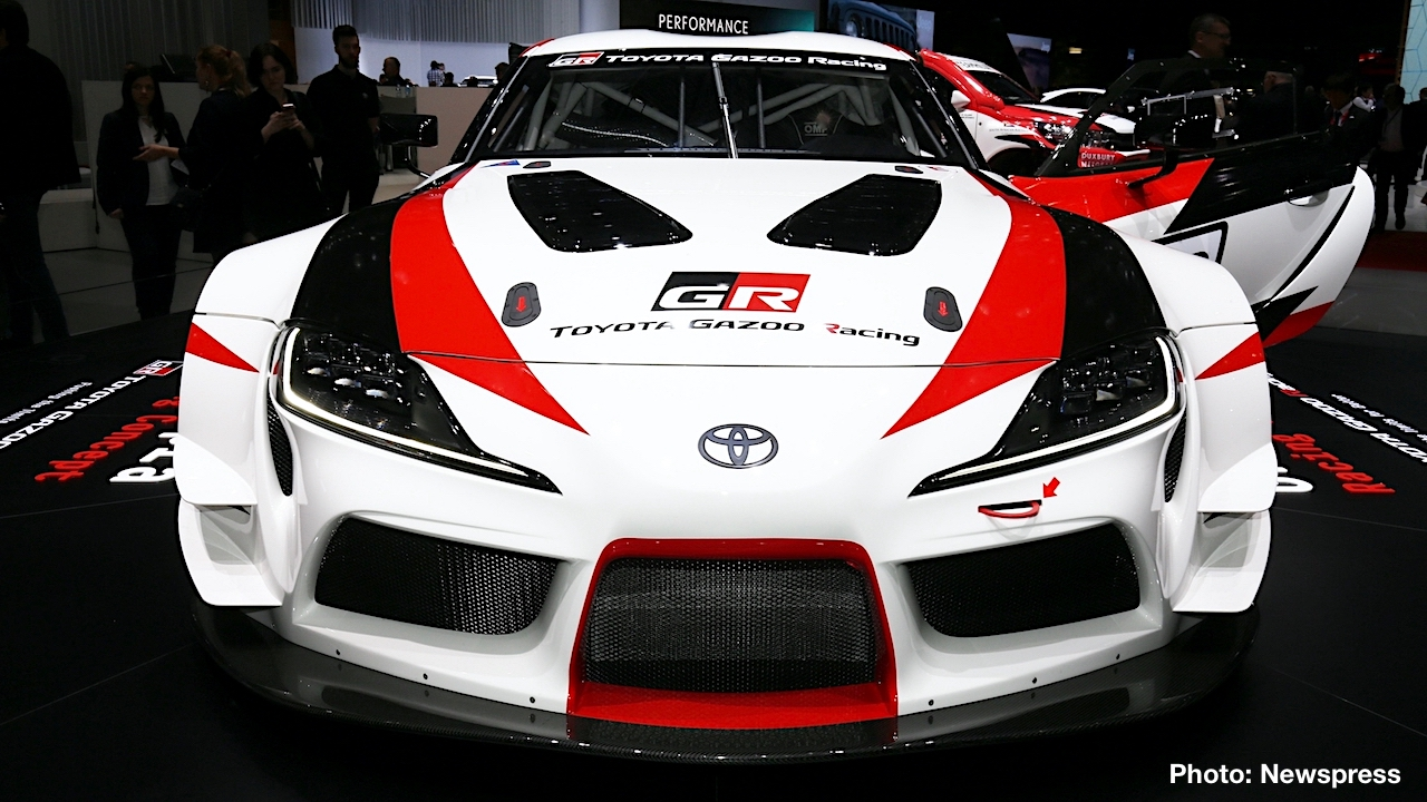 Toyota Introduced The Track Focused GR Supra Racing Concept At The Geneva  Motor Show Today To Preview The Styling Direction For The Upcoming  Production ...