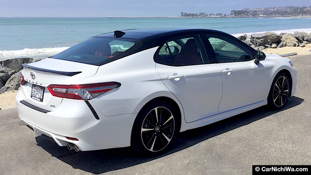 2018 Toyota Camry Xse V6 Review Sports Sedan Surprise The Best