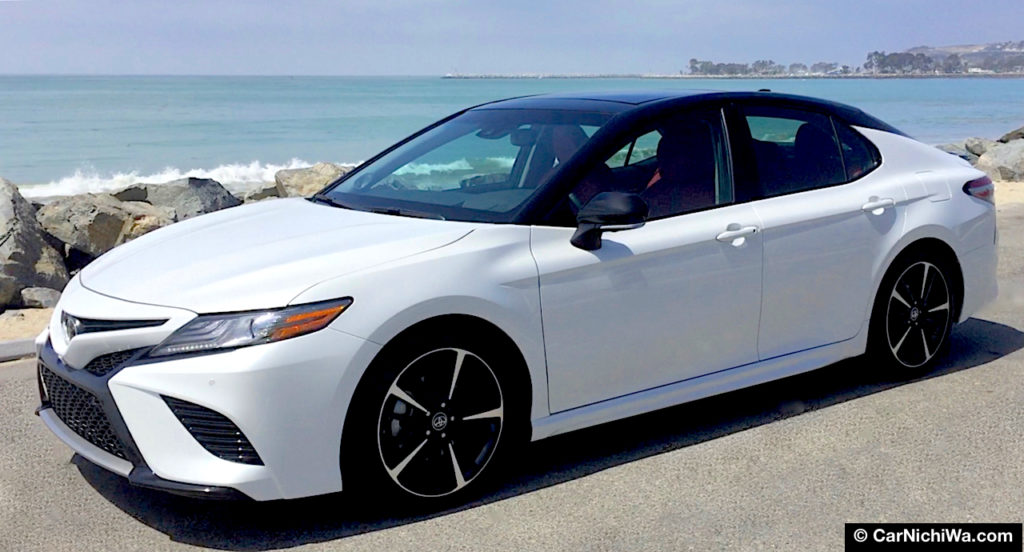 2018 toyota camry xse v6 review sports sedan surprise the best camry ever carnichiwa for 2018 toyota camry xse red interior