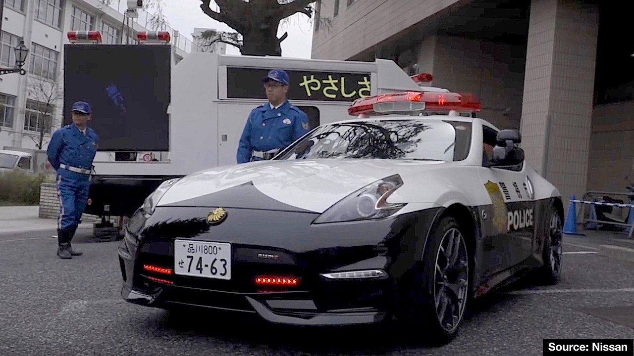 nissan r35 gt-r joins the force in tochigi – the coolest police car