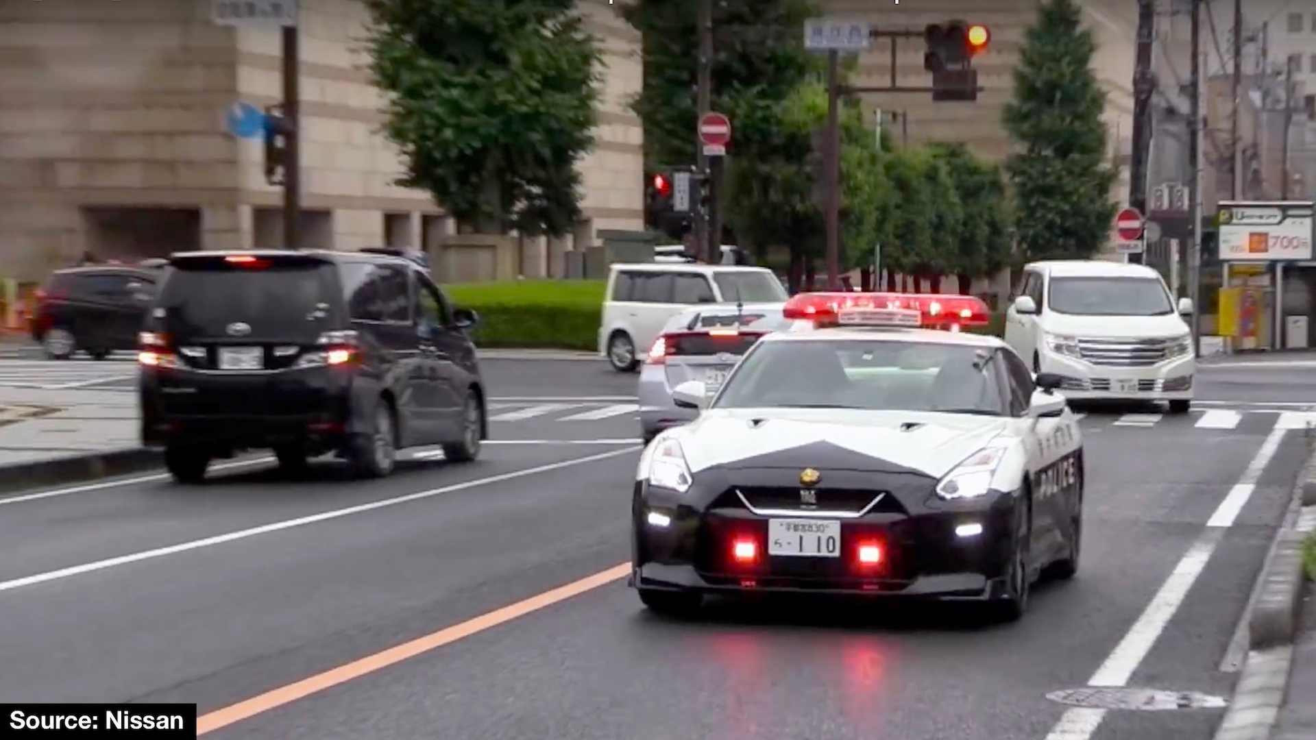 Nissan R35 Gt R Joins The Force In Tochigi The Coolest Police Car