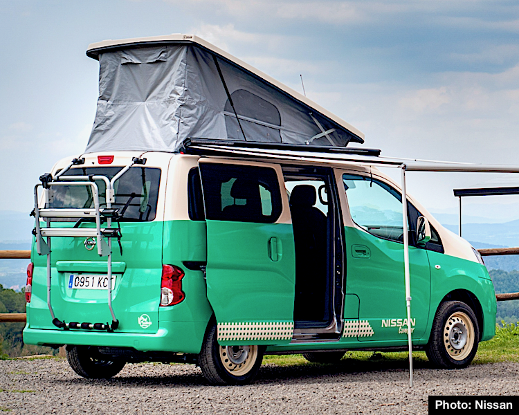 New Nissan Campers Are Vantastic Nv300 Nv200 And Electric