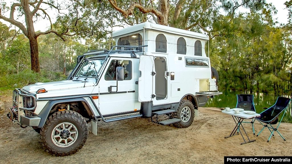 All Terrain Campers >> Earthcruiser Australia Launches Mercedes Benz G Pro Escape
