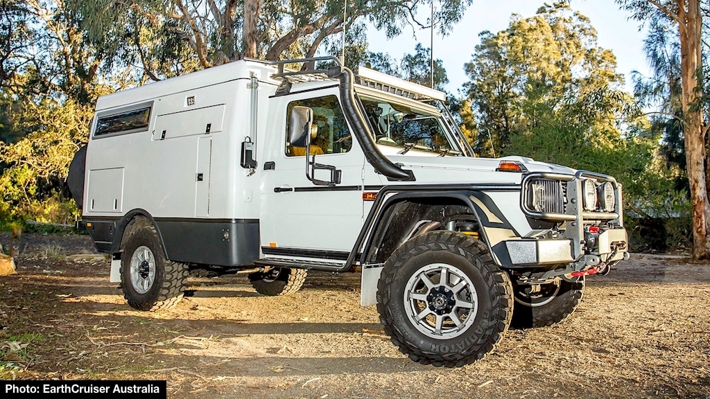 Built On The Mercedes G 300 CDI Professional Cab Chassis Platform Escape Camper Is More Compact Than Unimog Based Explorer While Retaining Many Of