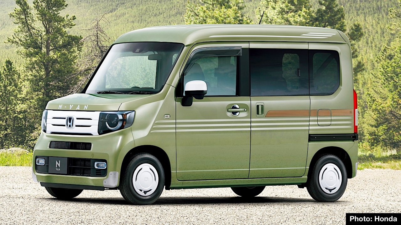 Thinking Outside And Inside The Box New N Van Joins Mini Vehicle Lineup This Week As It Goes On At Honda Dealers In An