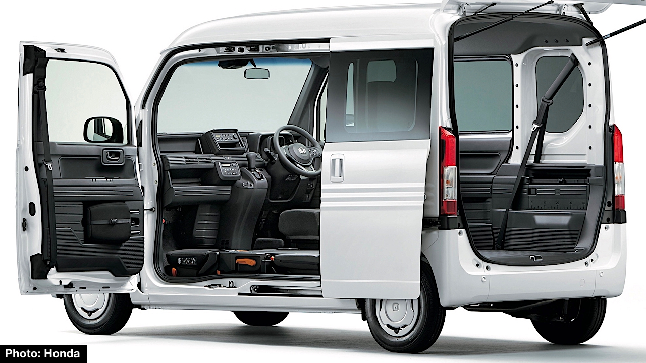 This Segment Is Not New For Honda As The Automaker Offered Acty And Vamos Work Vans Many Years