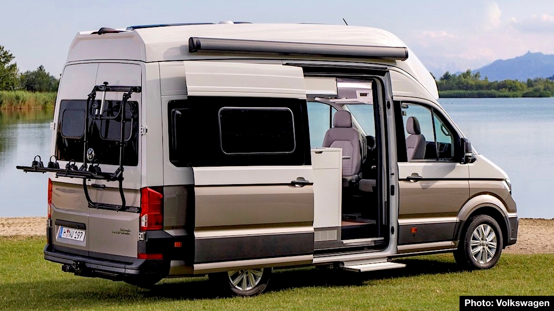 volkswagen grand california preview  dream suite   mini motorhome carnichiwa