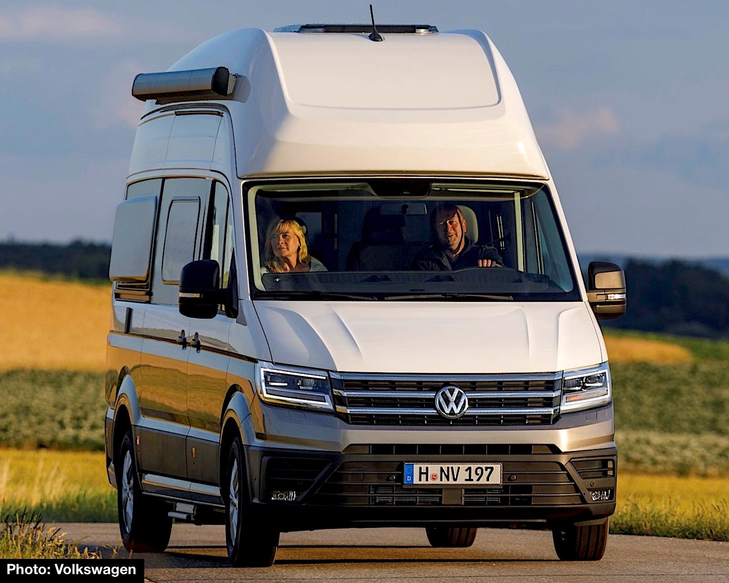 2019 volkswagen grand california preview new dream suite. Black Bedroom Furniture Sets. Home Design Ideas