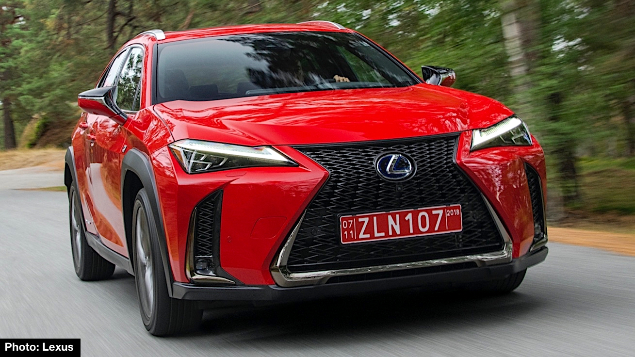 2019 Lexus Ux 250h F Sport Preview New Compact Crossover