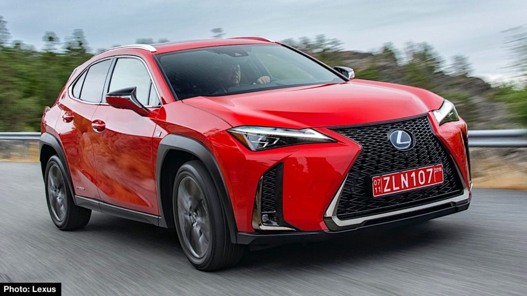2019 lexus ux 250h f sport preview new compact crossover on our wish list carnichiwa. Black Bedroom Furniture Sets. Home Design Ideas