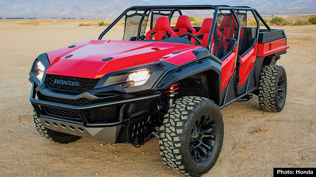 New Honda Rugged Open Air Vehicle Awesome Concept Merges Ridgeline With Pioneer Carnichiwa
