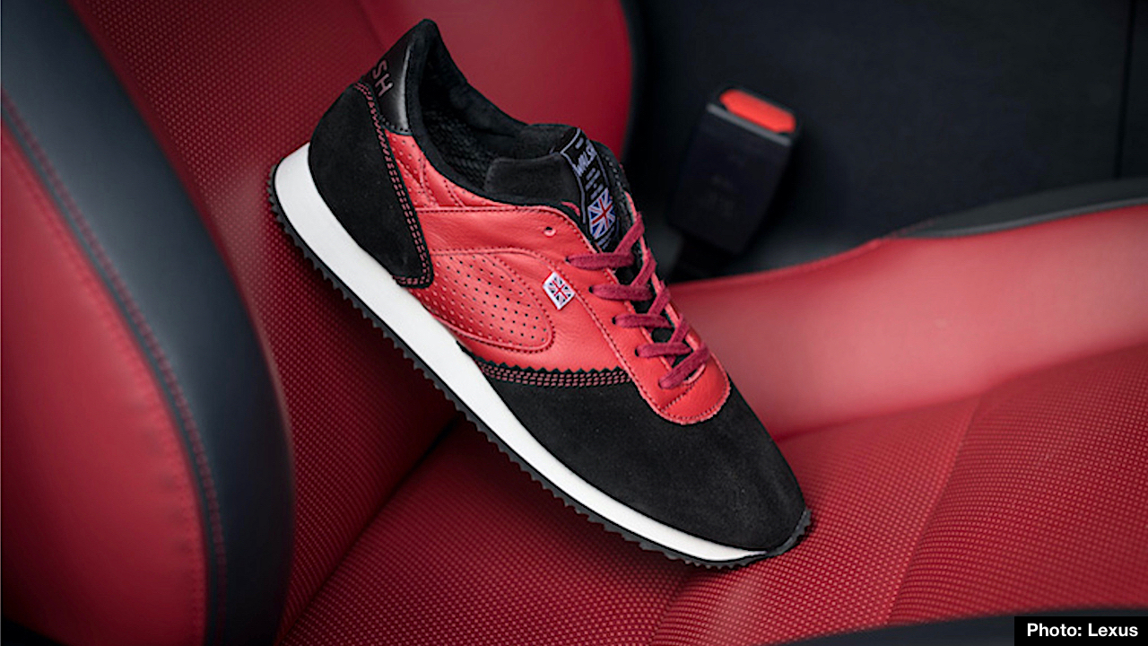 New Lexus F Sport Trainers Crafted by