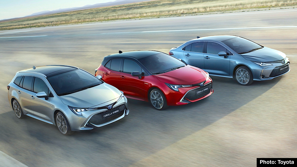 2020 Toyota Corolla Preview Hybrid Sedan Hatch And Wagon