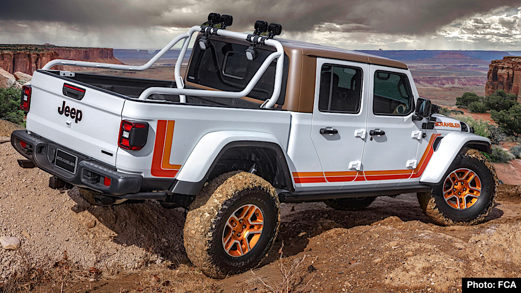 Developed for the 2019 Moab Easter Jeep Safari, the Jeep